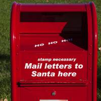 """Mail Letters To Santa Here"" by Garry Gay"