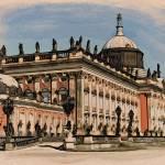 """Neues Palais, Potsdam, no 1"" by HAX"