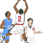 """B Ball rebounding"" by EddieConley"