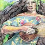 """Hawaiian Girl"" by patriciamalone"