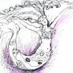 """Joyous Mermaid"" by patriciamalone"