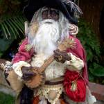 """Pirate Santa of felt"" by patriciamalone"