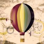 """Hot Air Balloon"" by LJdesigns"