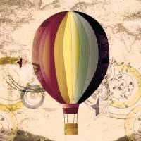 Hot Air Balloon by Lisa Rich