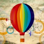 """Hot Air Balloon 2"" by LJdesigns"