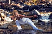 Flowing Yoga Woman