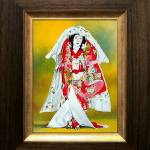 """Kabuki Sea of Love (framed)"" by ZiyaEris"
