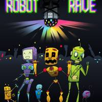 Robot Rave Art Prints & Posters by Sam Guertin