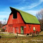"""Red Barn"" by NaturesImpactPhotography"