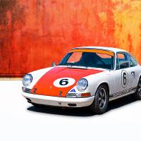 1968 Porsche 911 Art Prints & Posters by Stuart Row