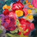 """Garden Bunch"" by jacquelinebrewerart"
