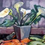 """Still Life - Lilies"" by rozmcquillan"