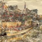 """Amsterdam Aquarelle"" by HAX"