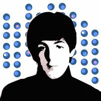 Paul McCartney - Blue - Pop Art