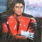 """Micheal Jackson Autographed Oil Painting reprint"" by pacificcoastart"