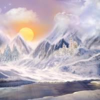Winter Dream Landscape Art Prints & Posters by Anne Vis