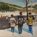 """""""Rematch 2008"""" by GenestHockeyArt"""