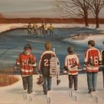"""""""Rematch 2010"""" by GenestHockeyArt"""