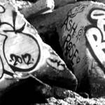 """#Graffiti - Boris - Black & White"" by photoartful"