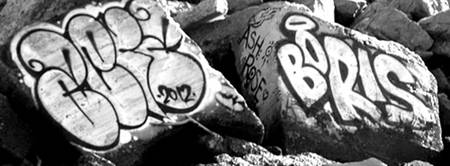 #Graffiti - Boris - Black & White