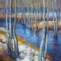 Spring River Thaw Art Prints & Posters by Tonja Sell