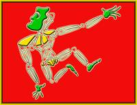 Dance Warrior 13  red and green