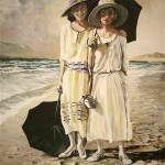 """Mother Daughter and a Beach"" by Kevinmeredith"