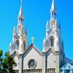 """Saints Peter and Paul Church, San Francisco"" by wcsmack"
