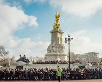 Victoria Memorial, Buckingham Palace. London