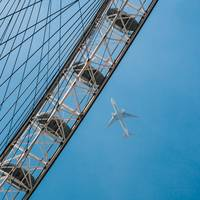 Airplane & London Eye