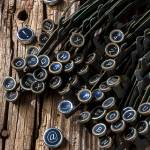 """Old worn typewriter keys"" by photogarry"