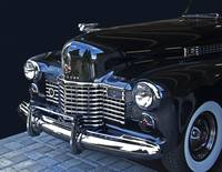 1941 Cadillac Grill Detail