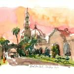"""Study for Balboa Park"" by WilliamDunn"