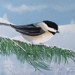 """Chickadee"" by EMBlairArtwork"