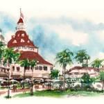 """""""Del Coronado Hotel"""" by WilliamDunn"""