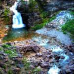 """""""Blakiston Falls, Waterton"""" by Mottull"""