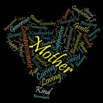 """""""Mother in 100 Words"""" by citywallart"""