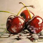 """Three Cherries"" by Kevinmeredith"