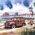 """""""Surf City"""" by WillyDaleArt"""