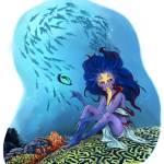 """Mergirl"" by belitriversart"