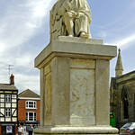 """Dr Samuel Johnson Seated Statue, Lichfield (28640)"" by rodjohnson"