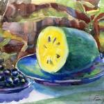 """grapes and yellow watermelon"" by irfa"