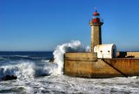 Lighthouse in Porto