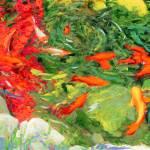 Avrille's Koi Pond by RD Riccoboni 2007 by RD Riccoboni