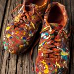 """Painted Tennis Shoes"" by photogarry"