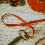 """Key on red ribbon"" by photogarry"