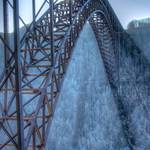 """New River Gorge Bridge in January"" by Pipevinestudio"