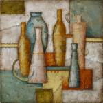 """Still Life With Bottles"" by ronik"