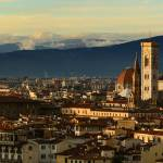 """Stunning panoramic print of Florence at sunset"" by emporoslight"