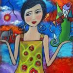 """Creating My World V"" by juliryan"